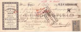 PARIS - ACIERS ANGLAIS - T. C. HOUNSFIELD - 8 , RUE DE LANCRY - PRODUITS WM JESSOP & SONS , SHEFFIELD - 1893 - Lettres De Change