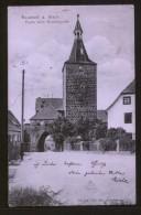 AK Neustadt A. Aisch, Partie Beim Nürnbergertor, Gelaufen Am 21.5.1906 - Allemagne