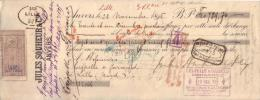 BELGIQUE - ANVERS - ANTWERPEN - JULES SOUHEUR & CIE - 1895 - Bills Of Exchange