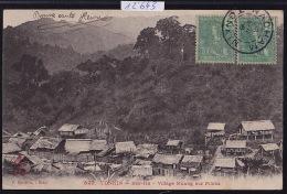 Tonkin : Bao-Ha - Village Muong Sur Pilotis - Timbres Indochine Française 1906 (12´643) - Viêt-Nam