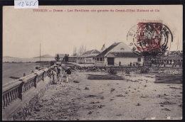 Tonkin - Doson - Les Pavillons Ale Gauche Du Grand-Hôtel Richard Et Cie - Timbre Indochine Française 1912 (12´653) - Viêt-Nam