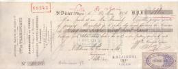 HAUTE MARNE - SAINT DIZIER - CIE DES TRANSPORTS - FABRIQUES DE COKES - ANCIENNE MAISON EM. GIROS & CIE - 1896 - Bills Of Exchange
