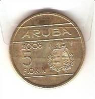 ARUBA 5 FLORIN 2006 PICK KM38 UNC - Monnaies