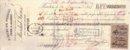SEINE SAINT DENIS - PANTIN - PIECES DE FORGES - FERS & ACIERS - MARCHAL FRERES - 1895 - Lettres De Change
