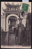 Tonkin - Haïphong - Bonze à L´entrée De La Pagode De Chû-Ha - Timbres Indochine Française 1906 (12´664) - Viêt-Nam
