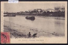 Tonkin - Haïphong - Canal Bonnal - Timbres Indochine Française 1906 (12´665) - Viêt-Nam