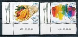 "ESTLAND Mi.Nr. 515-516 EUROPA CEPT "" Gastronomie "" 2005- Used - 2005"