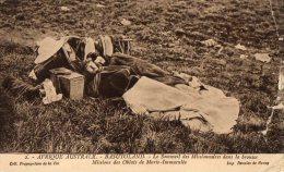 Afrique Noire  Lesotho  Missionnaires Dans La Brousse  ( Voir Scan)   Déchirure - Lesotho
