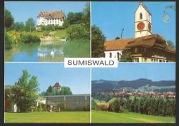 SUMISWALD Beinhaus Kirche Schloss Hallenbad - BE Berne