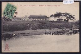 Thai-Nguyen - Casernes Et Rives Du Song-Cau - Timbre Indochine Française 1906 (12´741) - Viêt-Nam