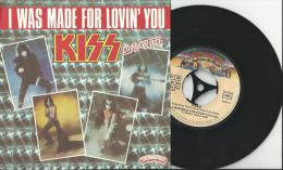 Kiss - I Was Made For Lovin You  - 45 T - 45 Toeren - Maxi-Single