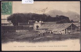 Tonkin - Tuyen-Quang - Vieille Porte Et Vieux Mur De La Citadelle - Timbre Indochine Française 1906 (12´747) - Viêt-Nam