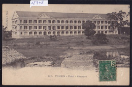 Tonkin - Vietri : Casernes - Timbre Indochine Française 1906 (12´748) - Viêt-Nam