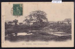Tonkin - Vietri : Caserne Et Digue ; Indochine Française 1906 (12´750) - Viêt-Nam
