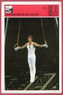 GYMNASTICS  Aleksandar Ditjatin Russia (Yugoslavia Old Card Svijet Sporta) Gymnastique Gym Gymnastik Gimnasia Ginnastica - Gymnastics
