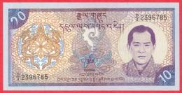 Bhutan - 10 Ngultrum UNC / Papier Monnaie - Bhutan - Bhoutan