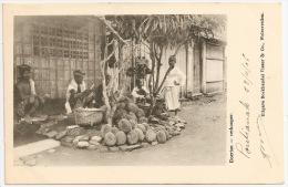 Indonésie / Indonesia - DOERIAN - Verkooper +++ Pontianak To Royan, France 1906 +++ Visser & Co., Weltevreden ++ - Indonésie
