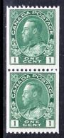 Canada  131 X 2  **  COIL - Unused Stamps