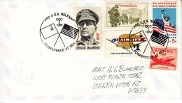 U.S. CONFERENCE AT SEA COVER    RUSSIA - U.S. 1989 - United States