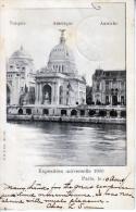 France  POSTAL HISTORY CARD  EXPOSITION  UNIVERSELLE  PARIS - 1900 – Pariis (France)