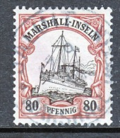 Germany  Marshall Islands  21  (o)  JALUIT Cd.  No Wmk. - Colony: Marshall Islands