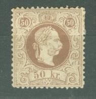Autriche   Michel  41 II  * Second Choix - Neufs