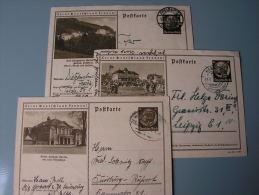 == DR  3 Alte Bildkarten  Ca,1940 - Deutschland