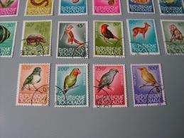 == Togo, Flora Fauna Set - 1964  385-406  , Selten Angeboten   Fische , Vögel, Birds Osieaux - Togo (1960-...)