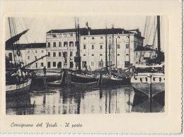 1961 CERVIGNANO DEL FRIULI (UDINE) IL PORTO --- M1059 - Udine