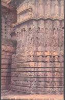 "Raphael Tuck Postcard ,Historic India Series II  Oilette # 8972  ""Dreams In Stone, Temple Of Halebid, Mysore"" Lot # T40 - India"