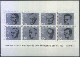 DEUTSCHLAND 1964 Mi-Nr. Block 3 ** MNH (38) - [7] Federal Republic