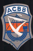 ACBB . - Ecussons Tissu