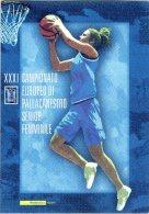 2007 Italia, Folder Europei Pallacanestro Femminile , AL FACCIALE - 6. 1946-.. Republic