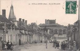 DUN-SUR-AURON RUE DE L'HIRONDELLE ANIMEE 18 CHER - Dun-sur-Auron