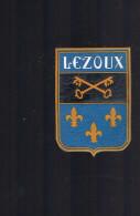 LEZOUX . - Ecussons Tissu
