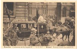 BRUXELLES L'avenement Du Roi Léopold III -  Neuve/unused Excellent état - Fêtes, événements