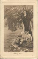 Fishing Time  The Gibson Post Cards No 1024 Copyright James Henderson & Sons Ltd, London - Couples