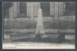 - CPA 62 - Licques, Le Monument Du Souvenir Français - Other Municipalities