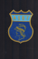 ASBF . - Ecussons Tissu