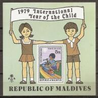 AÑO INTERNACIONAL DEL NIÑO - MALDIVAS 1979 - Yvert #H55 - MNH ** - Infancia & Juventud