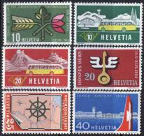 SWITZERLAND - SCHWEIZ -  JUBILEES  LOT - 1953-4 - Switzerland