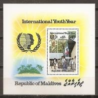 JUVENTUD - MALDIVAS 1985 - Yvert #H110 - MNH ** - Infancia & Juventud