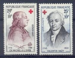 FRANCE - Yv. Nr 1226/1227 - Croix-Rouge - MNH** - Cote 5,60 € - Frankreich