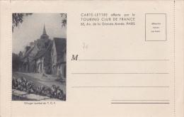 CARTE LETTRE NEUVE OFFERTE PAR LE TOURING-CLUB DE FRANCE - France