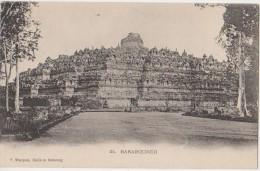 CPA INDONESIE INDONESIA JAVA BARABOEDOER Temple 1904 - Indonésie