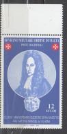 0PIA - SMOM - 2002 : 280° Dell' Elezione Del Gran Maestro Frà Antoine Mael De Vilhena  - (Unif. 690) - Sovrano Militare Ordine Di Malta