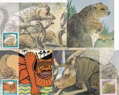 Australia 1994 Bunyips - Set Of 4 Maximum Cards - Cartes-Maximum (CM)