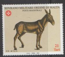 """PIA - SMOM - 2002 : Tavole Da Antichi Testi Tratte Da """"Historia Animalium"""" Di Konrad Von Gesner - (UN 705-08) - Sovrano Militare Ordine Di Malta"""