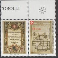 0PIA - SMOM - 2002 : Antiche Commende Dello S.M.O.M. - Commenda Di Mugnano   - (Unif. 704) - Sovrano Militare Ordine Di Malta