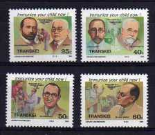 Transkei - 1991 - Celebrities Of Medicine (6th Series) - MNH - Transkei